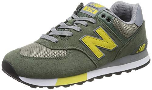 New balance 574v2 sneaker uomo, verde (green), 42 eu (8 uk)