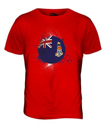 CandyMix Cayman Islands Fußball Herren T Shirt Rot