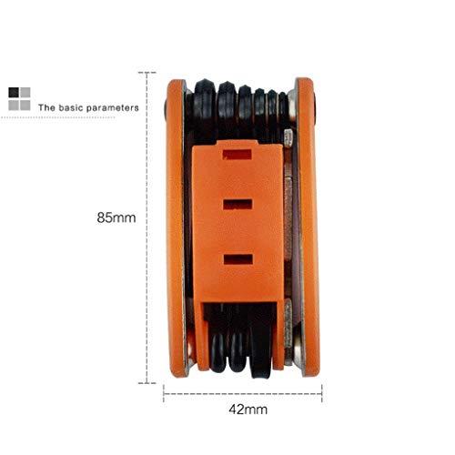 Ben-gi Reparación de Bicicleta Multi-Herramienta portátil de Bicicletas Plegables screwdriverbike Rayo de la Rueda Destornilladores Llave de Cubo de la losa de trinquete Herramientas