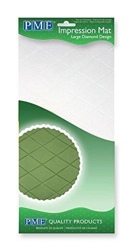 PME Prägematte Diamond Design - Rauten