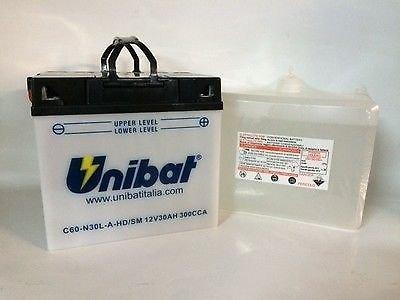 BATTERIA MOTO C60-N30L-A/HD/SM 12V 30AH