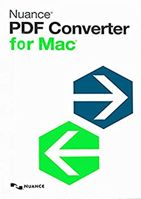 Nuance PDF Converter for MAC 6.0 [Mac Download]