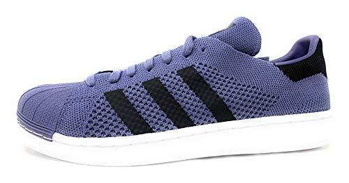 Adidas Sneaker Superstar-Primeknit Hombre Color: Violeta Talla: 11.0
