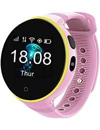 Relojes, Smart reloj GPS para niños chicos chicas reloj inteligente color multifunción Deporte SmartWatch for