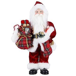 himaly Decoración de Figura Grande papá Noel