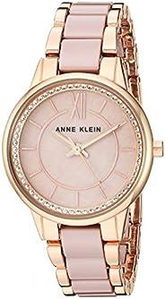 Anne Klein Women's Premium Crystal Accented Ceramic Bracelet W