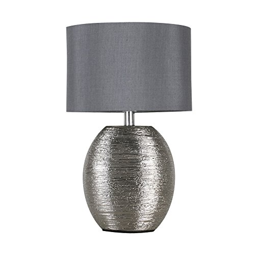 modern-textured-metallic-chrome-effect-ceramic-table-lamp-with-a-grey-fabric-light-shade