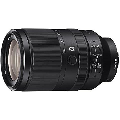 Sony SEL70300G - Objetivo zoom telescópico (70-300mm, F4.5-5.6 G, OSS), negro