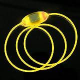 CricTeQleap Mode Nachtsicherheit Hundehalsband Hell Einstellbare LED Luminous Halskette Halsband Yellow