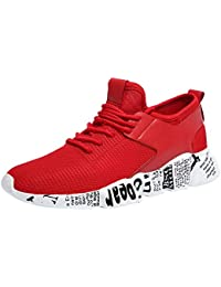 OSYARD Chaussures de Course Jogging Sport Compétition Trail Entraînement Femme Basket Sneakers Outdoor Running Sports Fitness Gym Shoes