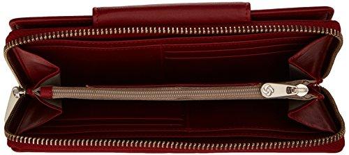 Samsonite Rhode Island SLG Geldbörse Leder 18,6 cm brown Pompeian Red