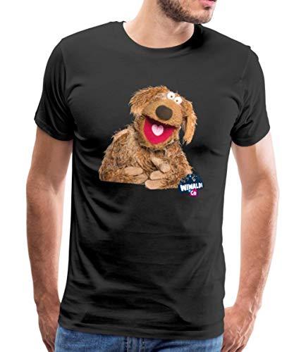 Spreadshirt Wiwaldi Und Co Wiwaldi Männer Premium T-Shirt, XXL, Schwarz