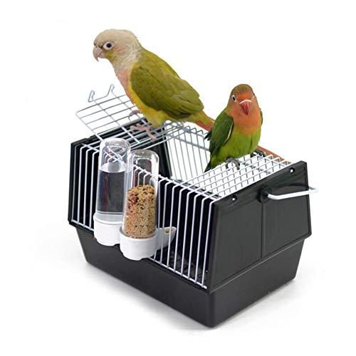 Class-Z Vogelheim mit Vogelfutterstation für Kanarienvögel und Papagei Wellensittich, Hochwertiger Vogelkäfig mit Feeder und umfangreichem Zubehör