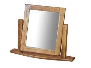 Morriswood Rustic Oak Range Single Dressing Table Mirror