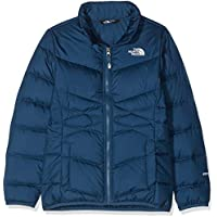 The North Face Kids TNF Chaquetas, Niñas, Blue Wing Teal, XL