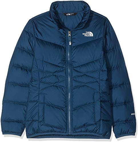 THE NORTH FACE Mädchen Andes Daunenjacke, Blue Wing Teal, S