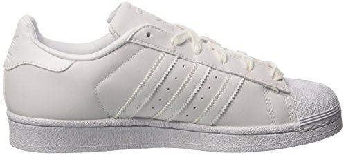 adidas Superstar W, Sneaker Donna Bianco (Footwear White/footwear White/core Black)