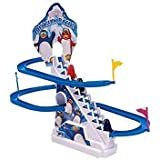 3one3 ancing Penguin Twinkling Track Set with Lights?Multi