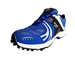 Port Rezer Blue Synthetic Cricket Stud Sport Shoes(10 Ind/Uk)