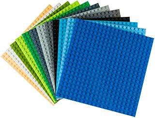 Strictly Briks - Premium-Bauplatten - kompatibel mit Allen führenden Marken - 6