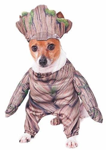 (Rubie 's Marvel Walking Groot Pet Kostüm, Mittel)