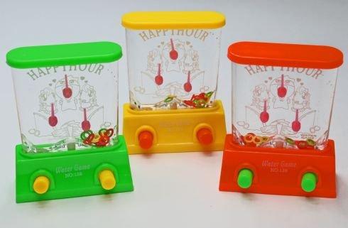 Sellmando 3 Stück Gedultspiel / Wasserspiel mit Ringe