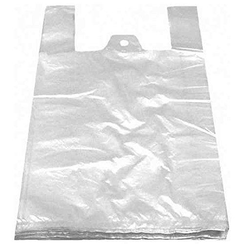 100 Stk. Hemdchentragetaschen HDPE weiß 300+180x550mm, feste Qualität