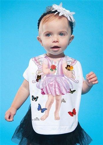 Dress Fairy Fancy (Quality Bib Animal Fancy Dress Butterfly Fairy Baby Gift)