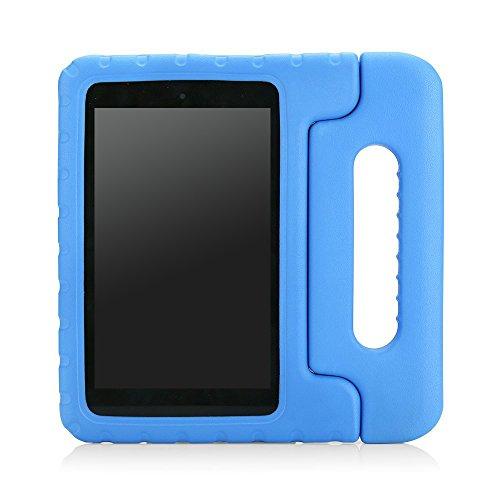 MoKo Fire HD 6 Hülle - Superleicht EVA Stoßfest Kinderfreundlich Kinder Schutzhülle mit umwandelbarer Handgriff und Standfunktion für Kindle Fire HD 6 Zoll (4. Generation - 2014 Modell), Blau
