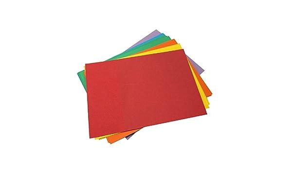 House of Card /& Paper Lot de feuilles cartonn/ées 220/g//m/² A5 Assorted Bright Colours Pack of 25 Sheets