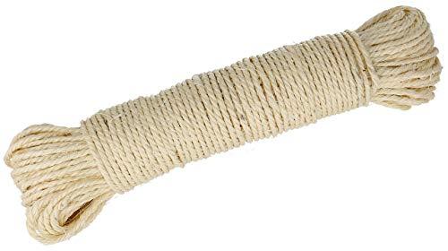 Lantelme 3974- 50metros cuerda sisal natural arañador
