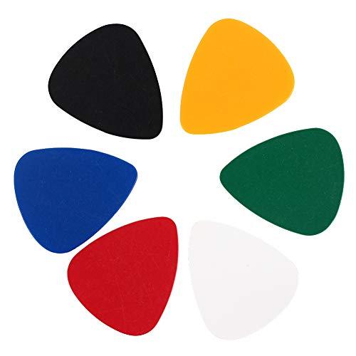 Anyutai Gitarrenpick Plektren Plektren Zuhause Übungen Instrument Celluloid (Coole Plektren Plektren)