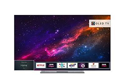 Toshiba 55X9863DB Smart 4K Ultra-HD HDR OLED TV - Silver