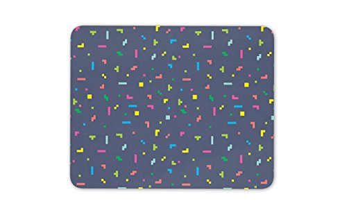 Kühler Spielstil Mauspad Pad - Tetris Gamer Kinder Retro-Geschenk-Computer # 8858