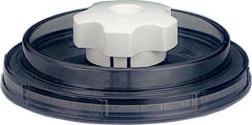 Magic VAC VDU 125 - Tapa universal de recipientes para envasar al vacío (125 mm, redonda)