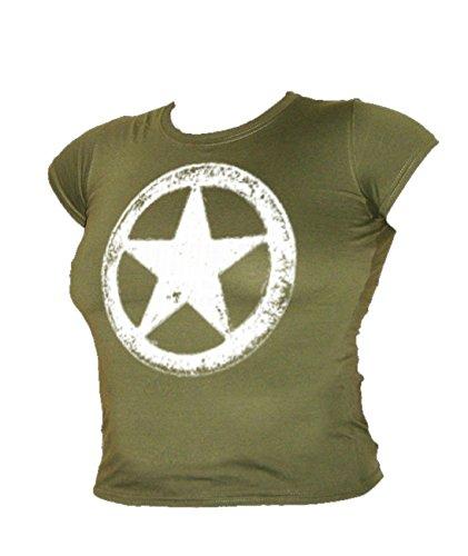 us-army-wwii-military-white-star-retro-mash-ladies-vintage-t-shirt-all-sizes-medium-military-green
