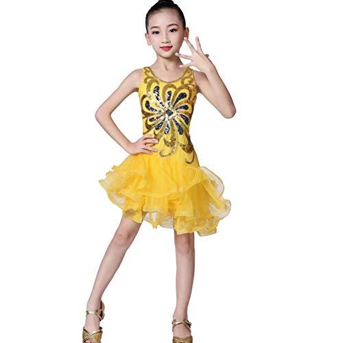 Kindertanzkostüme für Mädchen Wettbewerb, Trikotanzug Ballett/Tanz/Gymnastik Tutu Rock Dancewear Kostüm (Tanz Kostüme Für Hip Hop Wettbewerb)