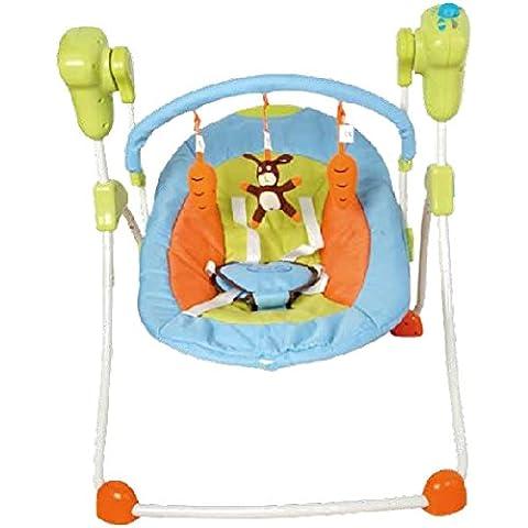 Columpio plegable para bebés, multicolor. Hamaca, balancín o silla mecedora. De regalo manta de actividades