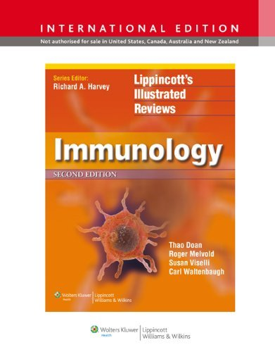 Immunology (Lippincott's Illustrated Reviews Series) by Thao Doan, Roger Melvold, Susan Viselli, Carl Waltenbaugh (2012) Paperback
