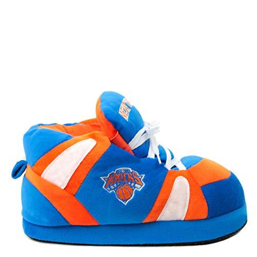 Sleeper'z Hausschuhe - New York Knicks - NBA Basketball Team Puschen - 44/46 (XXL) Logo Sleeper