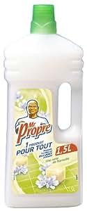 Mr Propre - 81165585 - Nettoyant Ménager Multi-Usages - Note de Marseille - 1,5 L - lot de 2