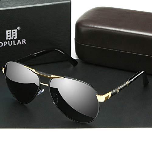 QKA Tag und Nacht Dual-Use-Farbe Sonnenbrille männlichen Polarisator Fahrerspiegel Nachtsichtbrille Fahren spezielle Sonnenbrille Angeln Brille Flut