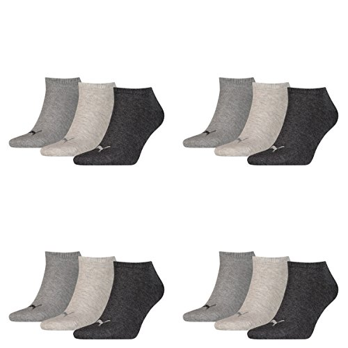 PUMA Sneaker Invisible 12er Pack Anthrazit