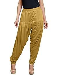 Goodtry Women's patiyala Free Size-Camel