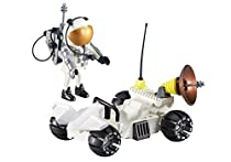 Playmobil - 6460 - Spationaute et Buggy Lunaire - ATTENTION : Sous EMBALLAGE PLASTIQUE, pas de boîte en carton pour cette référence.