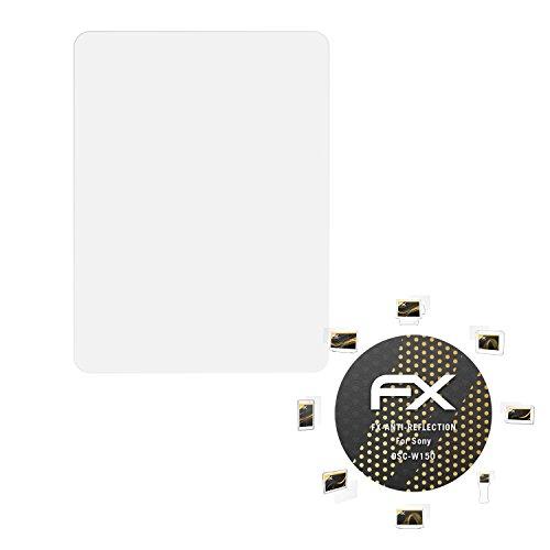 atFoliX Schutzfolie für Sony DSC-W150 Displayschutzfolie - 3 x FX-Antireflex blendfreie - Dsc-w150 Sony