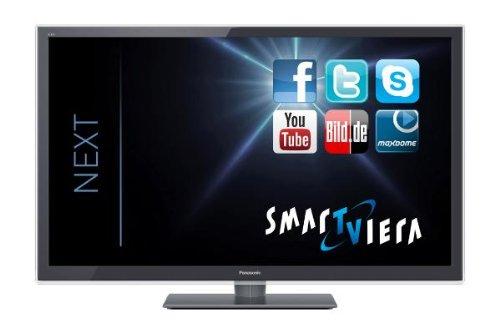 Panasonic TX-L42ETW5 107 cm (42 Zoll) Fernseher (Full HD, Triple Tuner, 3D, Smart TV)