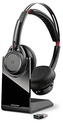 Plantronics Voyager Focus UC B825-M Binaurale Diadema Negro Auricular con micrófono - Auriculares con micrófono (Centro de Llamadas/Oficina, Binaurale, Diadema, Negro, Inalámbrico, 45 m) - Confronta prezzi