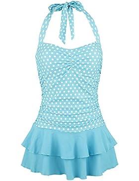 Pussy Deluxe Candy Love Swimsuit Costume da bagno azzurro
