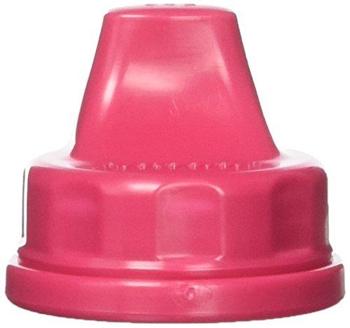 Lifefactory Sippy Caps für Flaschen, Raspberry, 2Stück